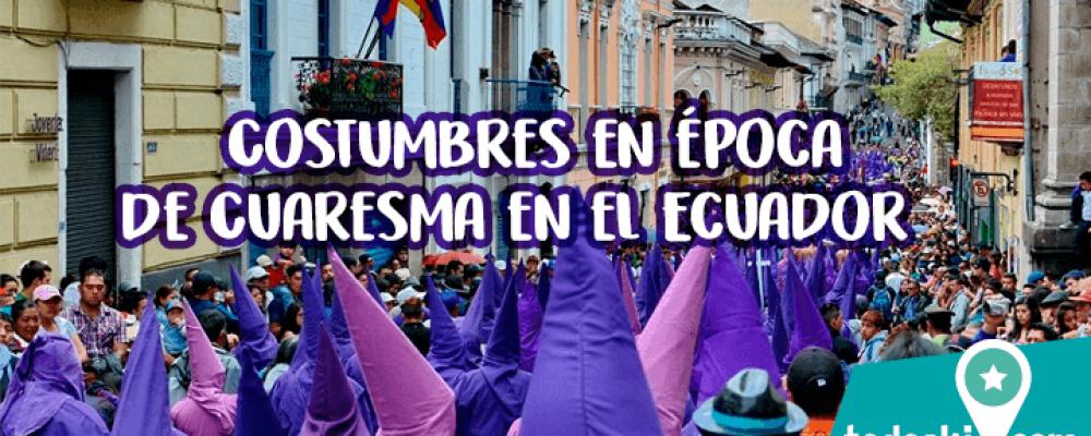 Semana Santa en Ecuador